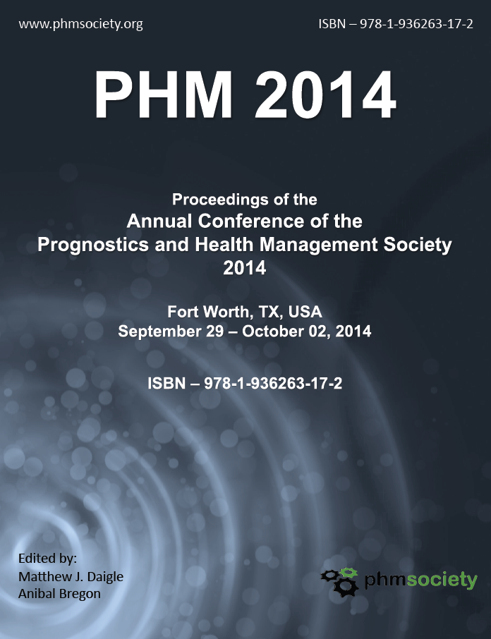 PHM14 Proceedings Cover Page